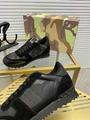 Garavani women Camouflage Noir Sneaker wholesale fake shoes 10