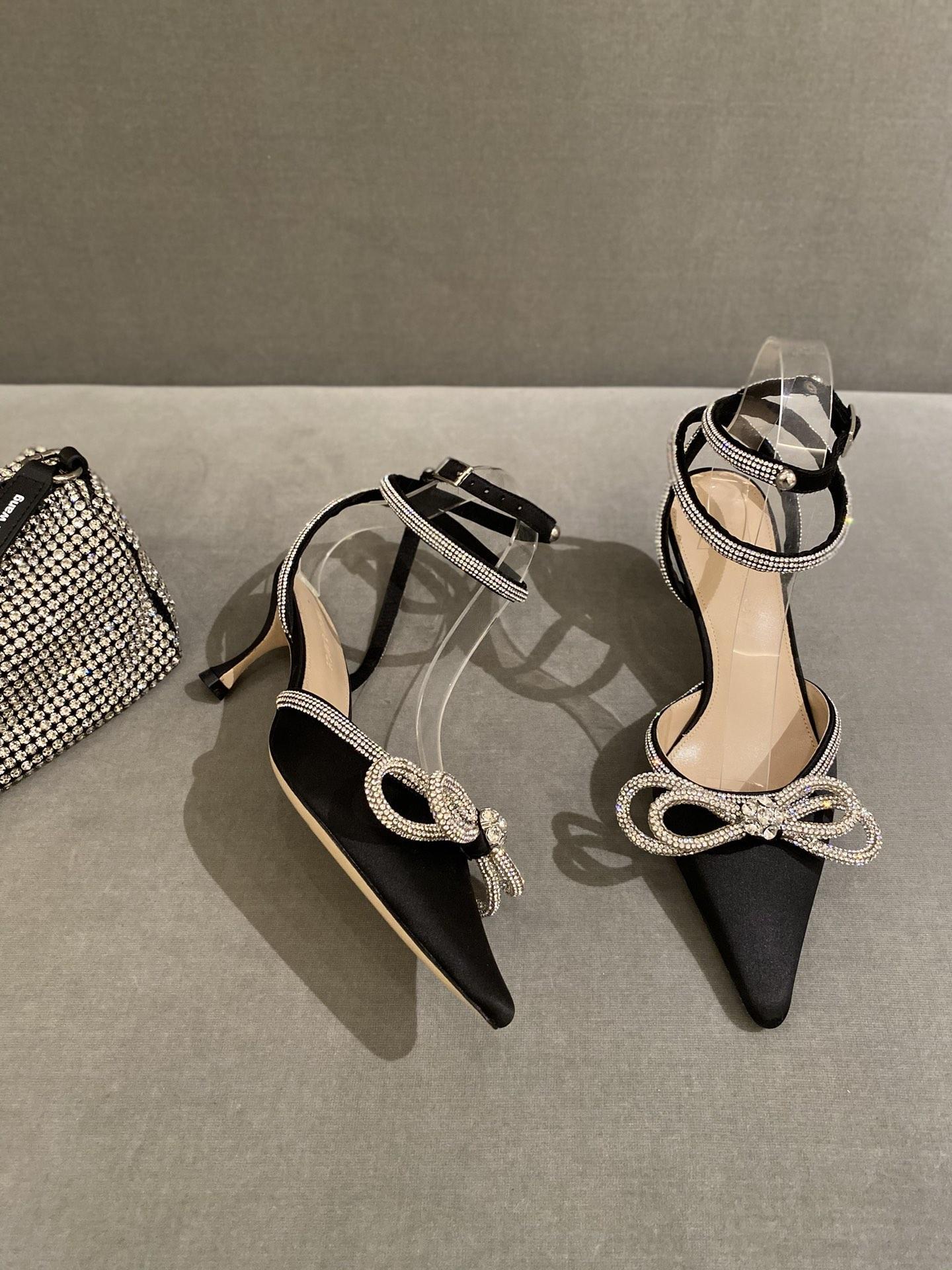 Amina Muaddi Plexi Phoenix Slingback Pumps party sandals women pvc shoes 14