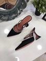 Amina Muaddi Plexi Phoenix Slingback Pumps party sandals women pvc shoes 18