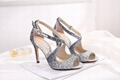 Amina Muaddi Plexi Phoenix Slingback Pumps party sandals women pvc shoes 19