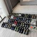 SAINT LAURENT PARIS women Loulou Bootie Black Suede heel high shoes 14
