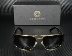 Men's Sunglasses VE2163 100287 Gold Gray 63 mm summer glasses
