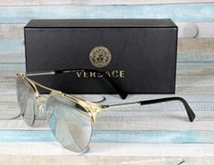 Men's Sunglasses VE2181 Pale Gold Light Grey 12526G Mirror Si  er 57 mm