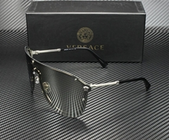 Women's Sunglasses VE2180 10006G Si  er 44 mm Si  er Light Grey Mirror