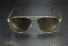 Unisex Sunglasses VE2209 1252V3 Pale Gold 58 mm Brown Tamp Si  er Gold