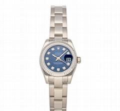 Rolex Datejust Auto 26mm 179179 Ladies Bracelet Watches White Gold Diamonds