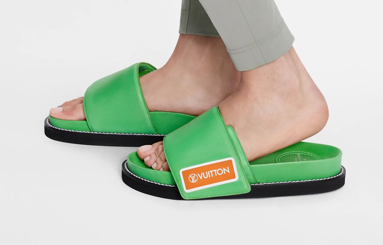 Sunset Flat Comfort Mule smooth calf leather women slippers girls shoes 4
