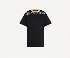 women 1A9373 Vuittamins Cotton Jersey T-shirt    Circle Vuitton