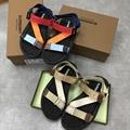 Patterson Colorblock Logo Sport Sandals