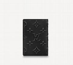 M80508 Pocker Organizer Slender Monogram Seal envelopes wallet