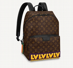 M57965 Discovery Backpack Monogram canvas mens Large storage bags