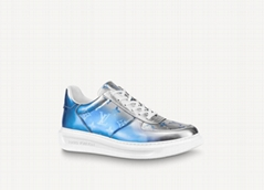 Beverly Hills Sneaker metallic Monogram canvas season's men's shoe