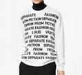 1A8WSW Letters Sweater season's    Letters theme men long shirt 3