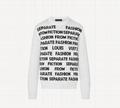1A8WSW Letters Sweater season's