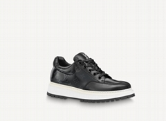 1A8ZI6 Abbesses Derby Mens sneaker glazed canvas shoes casual shoe