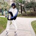 20ss Monogram Hoodie circle cut mens hoodie 10