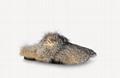 1A90RR Easy Mule slipper winter soft fox