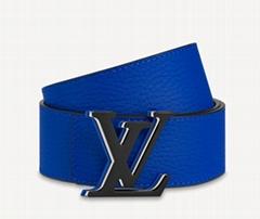 Louis Vuitt M0380V    Optic 40MM Reversible Belt mens leather belt waist strap