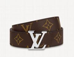 Initiales 30mm Reversible Belt iconic House motif luxury belt