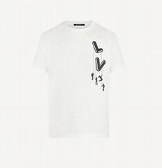 Floating    Printed T-Shirt lightweight cotton jersey short sleeve