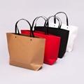 厂家直销加厚款纸袋定做服装店手提袋通用款礼品袋订制现货批发 4
