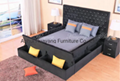 Hot Sell Modern Bed With Storage Box 3