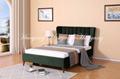 Modern Luxury Upholstery Bed Bedroom Furniture 1