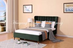 Modern Luxury Upholstery Bed Bedroom Furniture