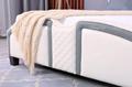 European Style Leather Platform Bed 4