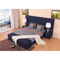 Upholstered Luxury European Fabric Bed 5