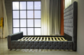High Headboard Upholstered Bed 5