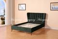 Modern Luxury Upholstery Bed Bedroom Furniture 2