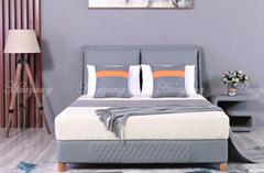 Leather Platform Bed Full