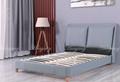 Leather Platform Bed Full 3