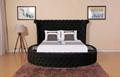 Elegant Round Ve  et Bed 2
