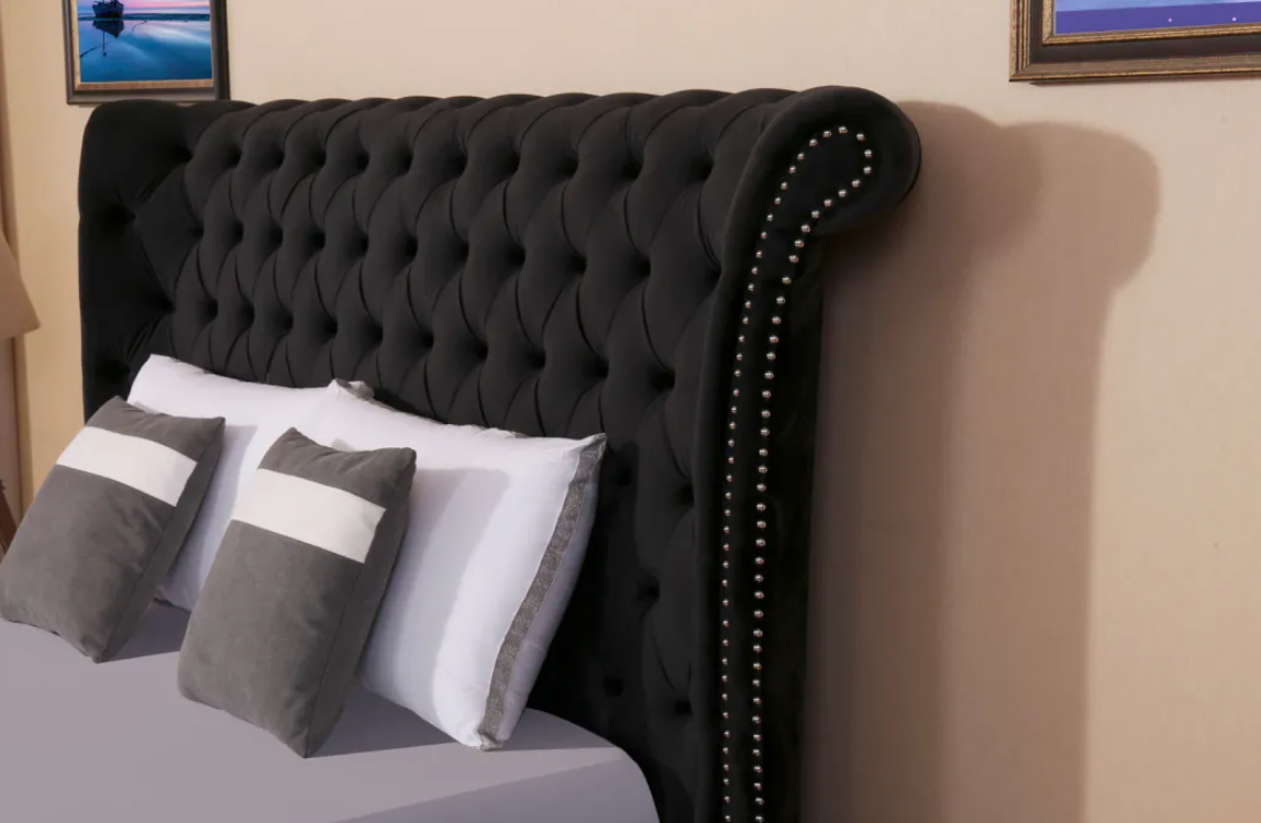 Elegant Round Ve  et Bed 3