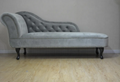 Upholstered Chaise Lounge Chair Couch