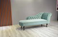 Upholstered Chaise Lounge Chair Couch Bench 3