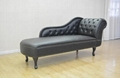 Upholstered Chaise Lounge Chair Couch Bench 4