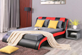 Upholstered Low Profile Bed 2
