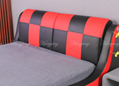 Upholstered Low Profile Bed 3