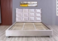 Contemporary Fabric Upholstered Bed