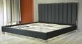 Modern Luxury Ve  et Upholstered Bed