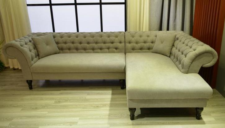 Modern Upholstered Sectional Sofa 1