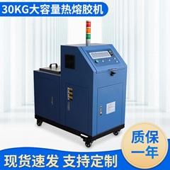 熱熔膠機 紙箱粘合封邊點膠機 電纜縱包噴膠機無紡布過膠機滾膠機