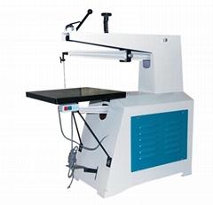 MJ4410 700mm throat 750W aichener scroll saw woodworking machine for sale
