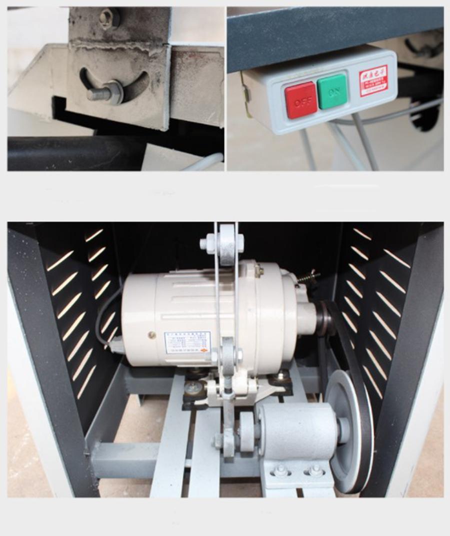 MJ4410 700mm throat 750W aichener scroll saw woodworking machine for sale 4