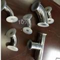 卫生级快装衬氟三通  衬氟三通 衬氟管道及配件 2