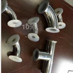 衛生級快裝襯氟90˚彎頭 襯氟管道及配件