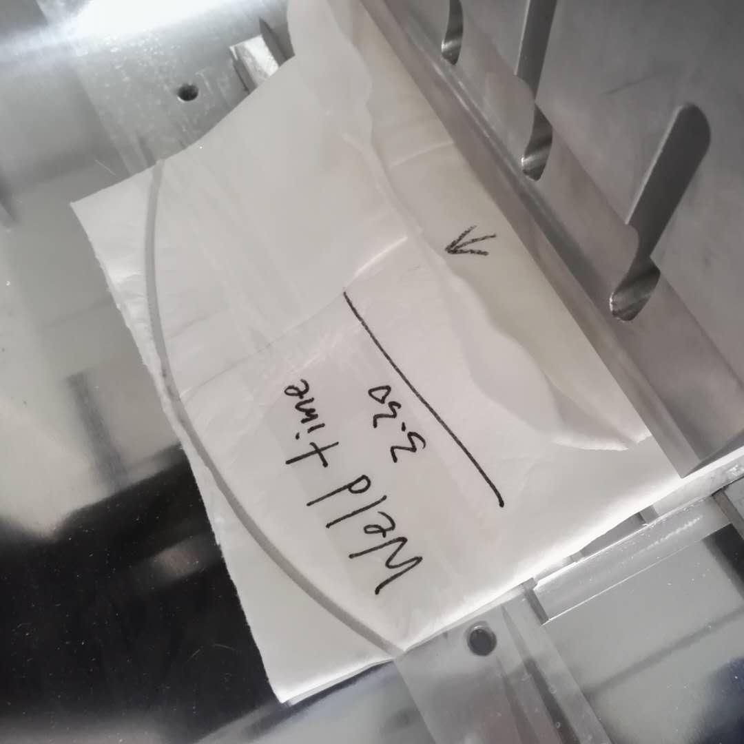 liuqid filte bag welder machine